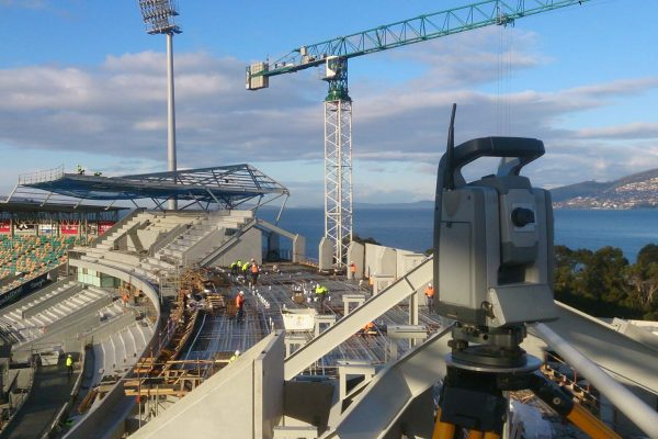 Construction Survey _Blundstone Arena