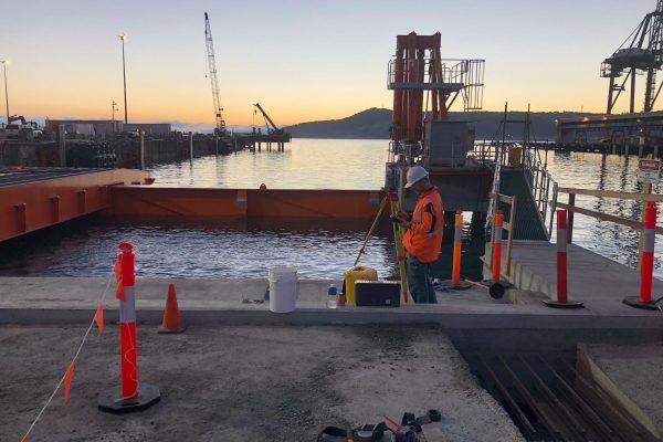 Construction Survey_Burnie Wharf_2019